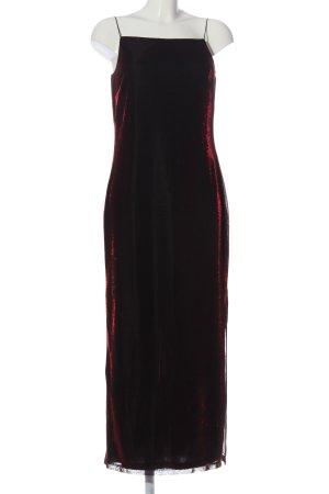 Vivien Caron Maxikleid schwarz-rot Elegant