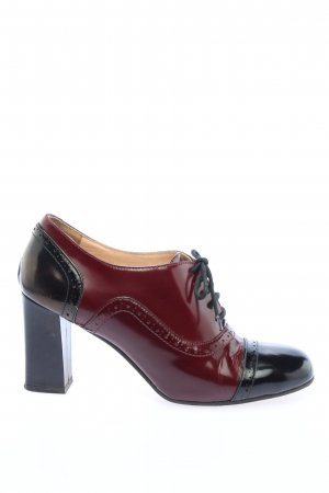 VIVIENNE Lace-up Pumps red-black casual look