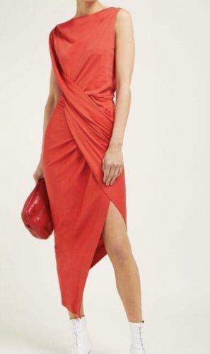 Vivienne Westwood Vestido a media pierna rojo