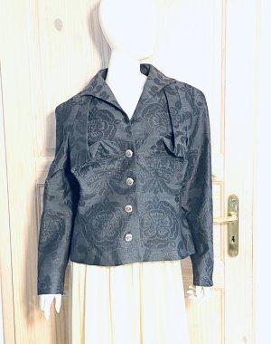 Vivienne Westwood Korte blazer grijs-donkergrijs Wol