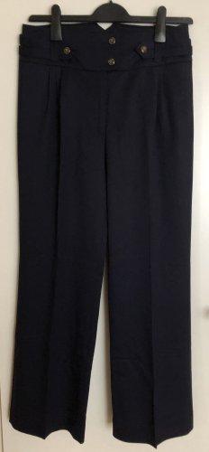 Vivienne Westwood Pantalone a pieghe blu scuro