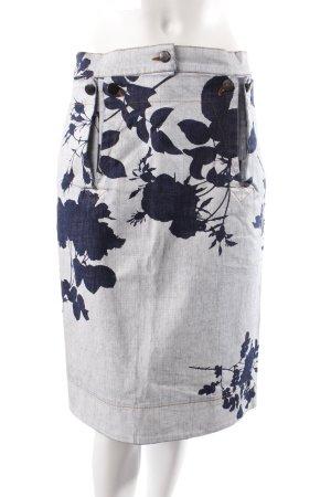 Vivienne Westwood Jeansrock Blumenmuster