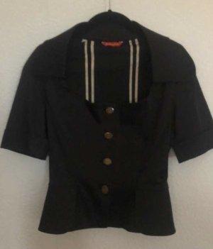 Vivienne Westwood Korte blazer zwart Viscose