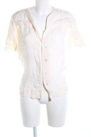 Vivienne Westwood Kurzarm-Bluse wollweiß Casual-Look