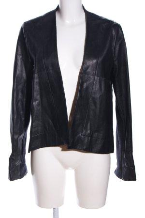 Vivienne Westwood Lederjacke schwarz Casual-Look