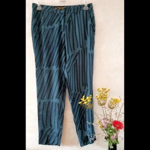 Vivienne Westwood Luźne spodnie petrol