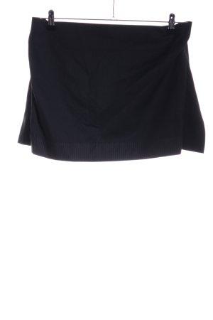 Vivienne Westwood Minirock schwarz Streifenmuster Casual-Look
