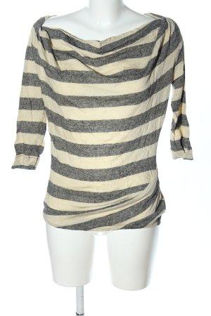 Vivienne Westwood Stripe Shirt natural white-black flecked casual look