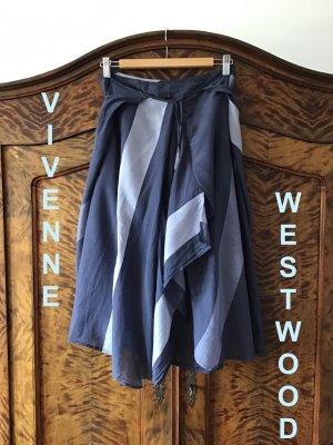 VIVIENNE WESTWOOD - Rock -  grau / blau - 80% Baumwolle - Vintage - TOP ZUSTAND