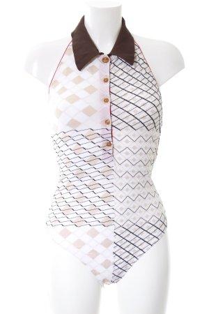 Vivienne Westwood Shirtbody grafisches Muster extravaganter Stil