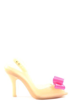 Vivienne Westwood Slingback-Pumps nude-pink extravaganter Stil
