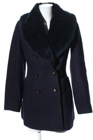 Vivienne Westwood Wollmantel blau Casual-Look