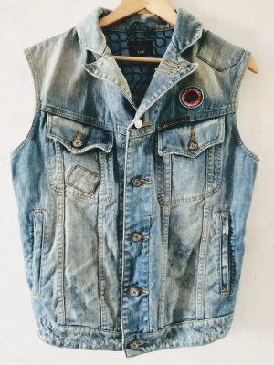 Vivienne Westwood Gilet en jean bleu clair