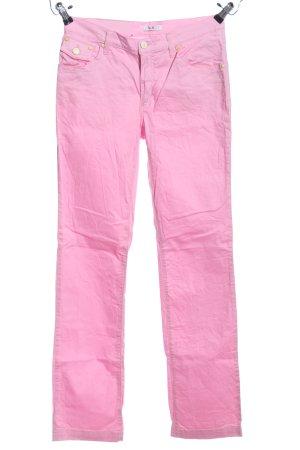 VJC Versace Röhrenhose pink Casual-Look