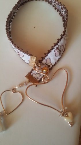 Pendant rose-gold-coloured-gold-colored
