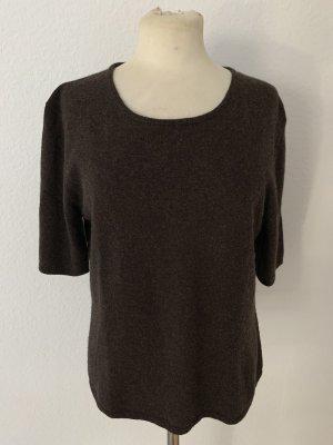 Vogue Short Sleeve Sweater dark brown