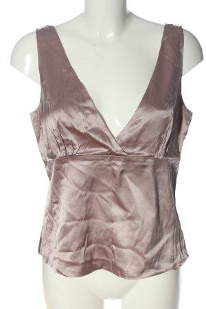 Vogue Blusa senza maniche rosa stile casual