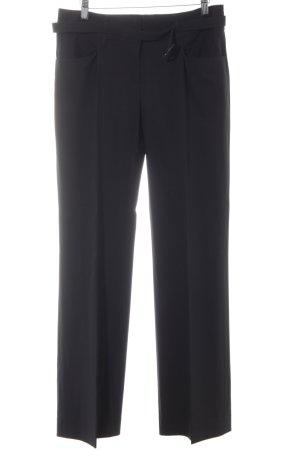 Vogue Pantalone da abito nero stile professionale