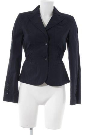 Vogue Blazer blu scuro-bianco Cotone