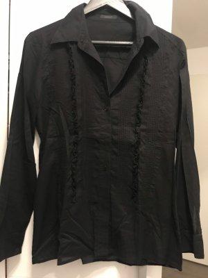 Vogue Ruche blouse zwart