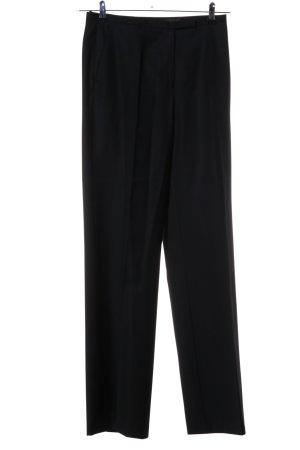 Vogue Pantalon à pinces noir style d'affaires