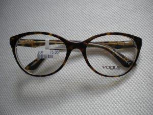 Vogue Damenbrille Brillengestell Cateye havanna