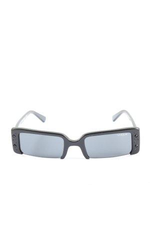 Vogue eckige Sonnenbrille schwarz Casual-Look