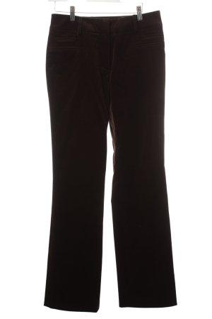 Vogue Pantalone marrone scuro stile casual