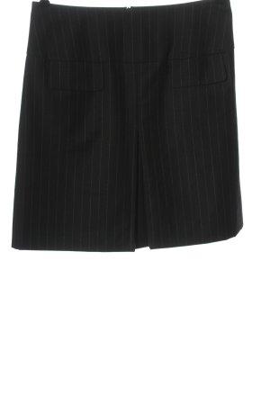 Vogue Minigonna nero stampa integrale stile casual