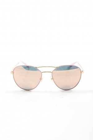 Vogue Aviator Glasses gold-colored-pink casual look