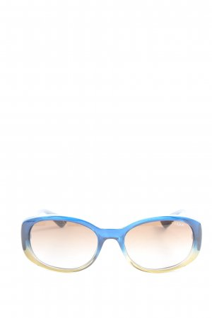 Vogue Oval Sunglasses blue casual look