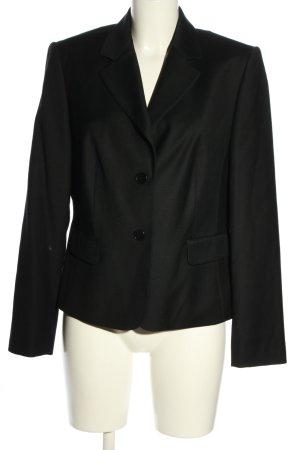 Vogue Blazer in lana nero stile professionale