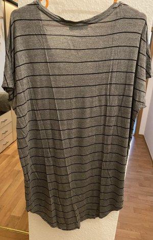 Blind Date Lang shirt donkergrijs-zwart