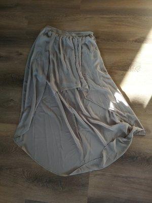 Forever 21 Robe bas asymétrique gris brun