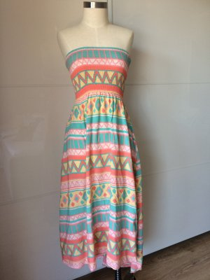 Cotton On High Low Dress multicolored