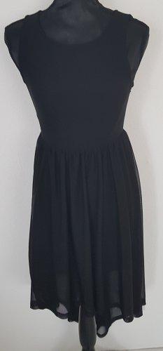 Vokuhila Kleid ärmellos in schwarz von H&M, Gr. 34, NEUWRTIG
