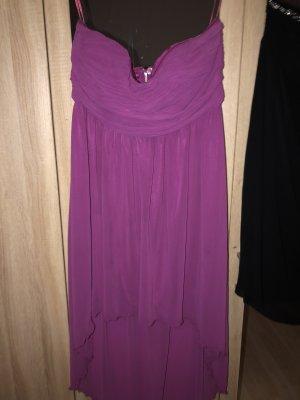 Villa High Low Dress purple-violet