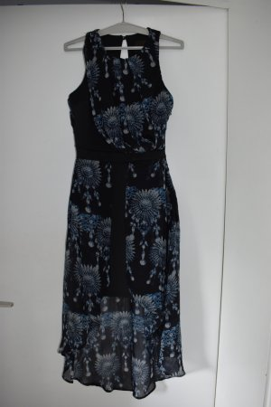 Atmosphere High Low Dress black-blue