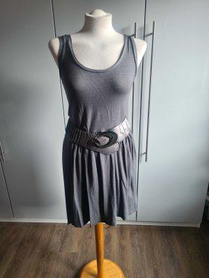 Vokuhila Kleid in grau letzte Preissenkung