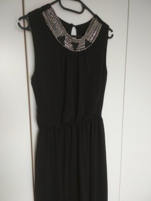 High Low Dress black