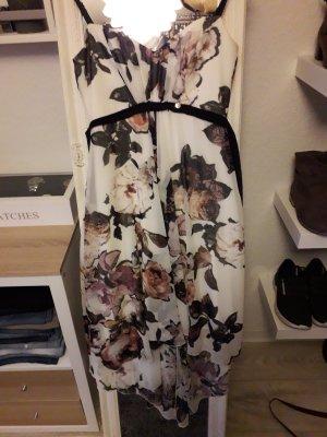 Rinascimento Asymetryczna sukienka biały