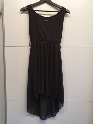 keine Marke High Low Dress black
