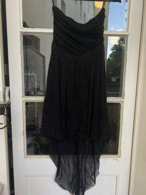 Robe bas asymétrique noir