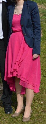 Vokuhila Kleid pink Größe S