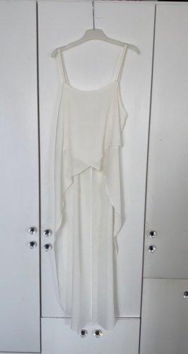 Vestido mullet blanco puro