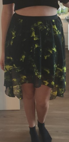 Falda de tul negro-marrón arena