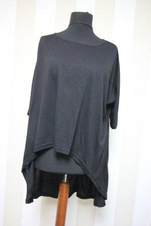 Camisa larga negro