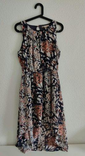 love 21 Asymetryczna sukienka Wielokolorowy Poliester