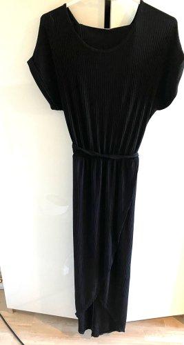 Made in Italy Vestido mullet negro Viscosa