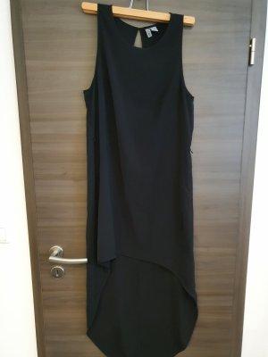 Asymetryczna sukienka czarny
